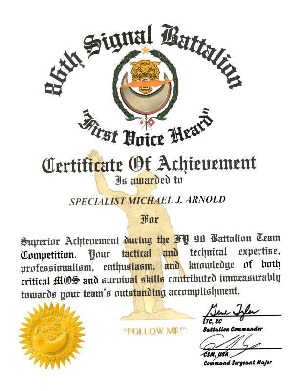 Certificate Thumbnails